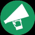 megaphone lebanon SIDC awareness 2021